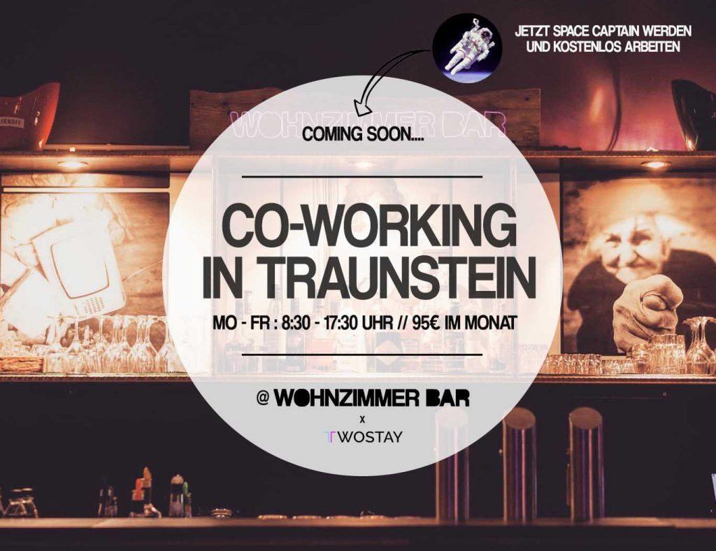 Co Working Wohnzimmer Bar